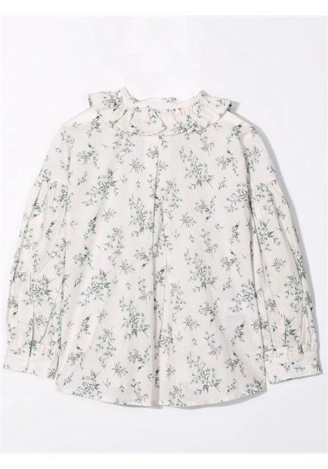 Flowered shirt IL GUFO | A21CL211C4078101