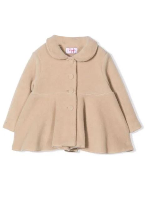 Coat with peplum hem IL GUFO | A21GA369M0108122