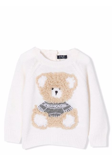 Sweater with embroidery IL GUFO | A21MA334EM2201074
