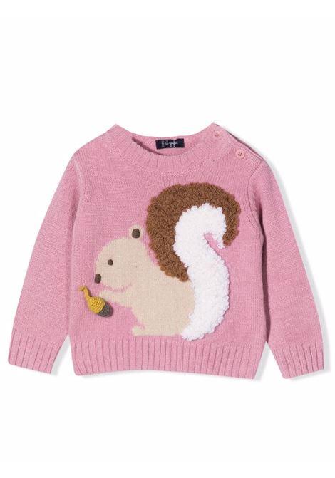 3D squirrel motif sweater IL GUFO | A21MA366EM2206816