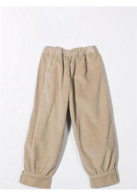 Pantaloni con vita elasticizzata IL GUFO | A21PL315V6012122