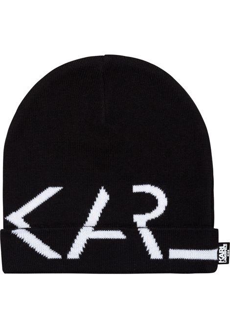 Berretto con logo KARL LAGERFELD KIDS | Z1103509B