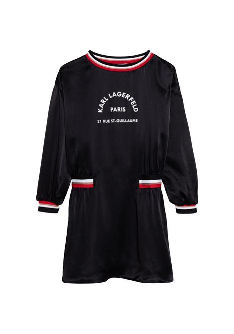 Dress with print KARL LAGERFELD KIDS | Z1219209B