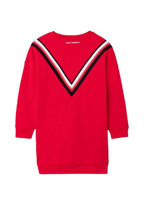 TEEN dress with print KARL LAGERFELD KIDS | Z12198963