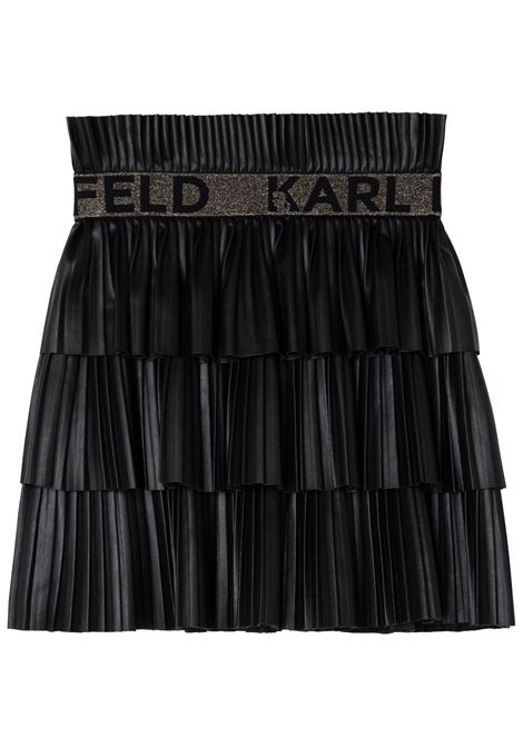 Pleated skirt KARL LAGERFELD KIDS | Z1307709B