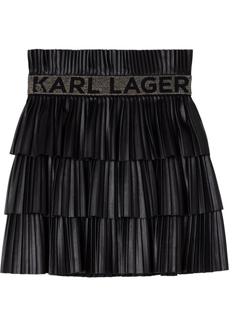 Pleated skirt KARL LAGERFELD KIDS | Z13077T09B