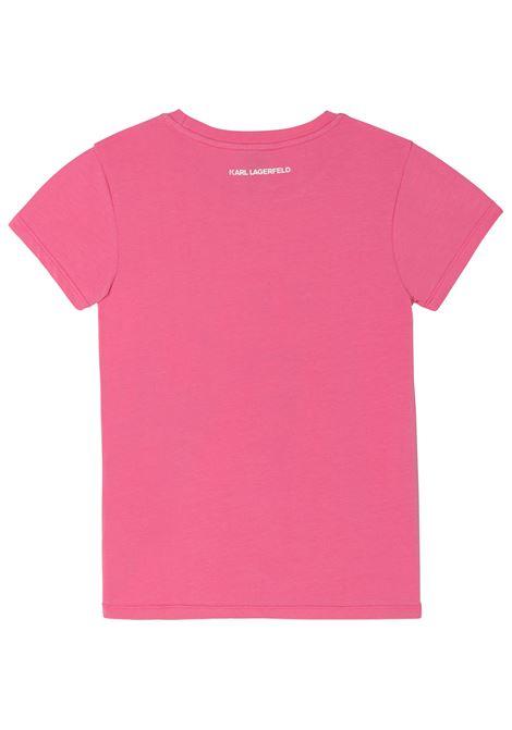 T-shirt Choupette KARL LAGERFELD KIDS   Z1532245A