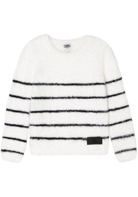 Crewneck sweater KARL LAGERFELD KIDS | Z15336T10B