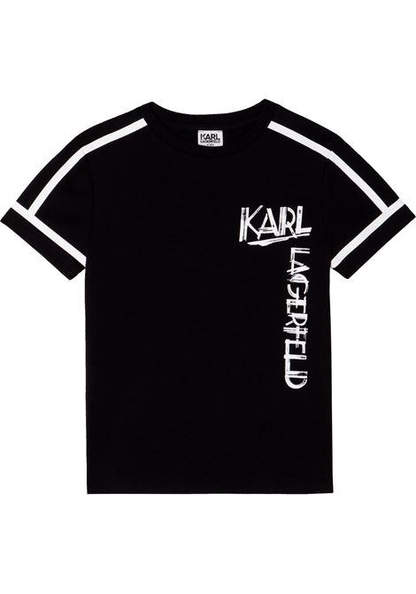 T-shirt con stampa KARL LAGERFELD KIDS | Z2530009B