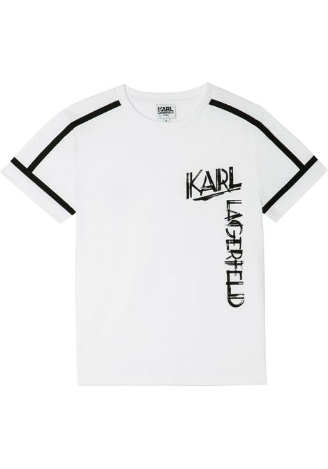 T-shirt con stampa KARL LAGERFELD KIDS | Z2530010B