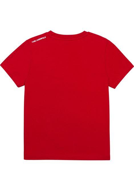 T-shirt Bad Cat KARL LAGERFELD KIDS | Z25303T963
