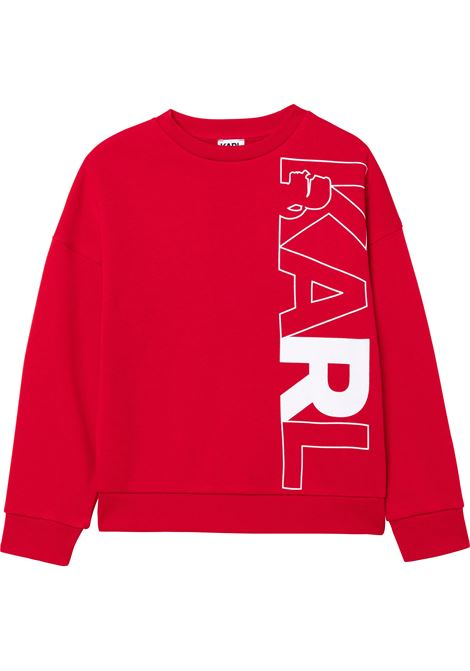 Sweatshirt with print KARL LAGERFELD KIDS | Z25319963