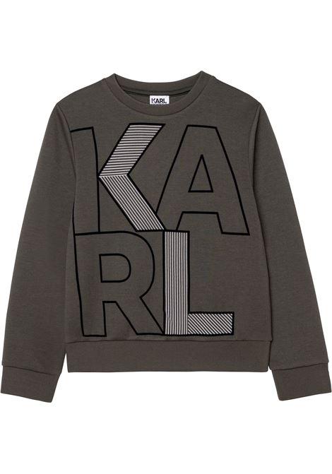 Sweatshirt with print KARL LAGERFELD KIDS | Z25321665