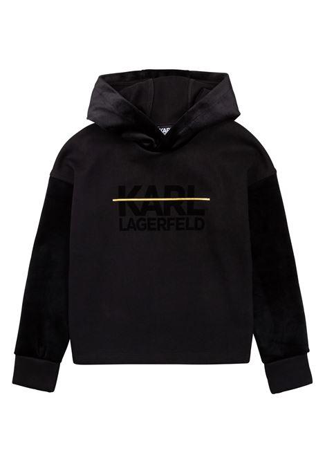 Sweatshirt with print KARL LAGERFELD KIDS | Z25322T09B