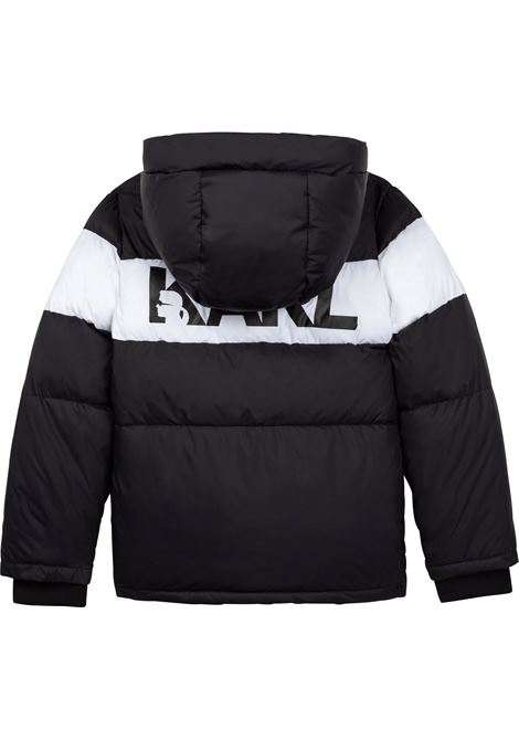 Hooded down jacket KARL LAGERFELD KIDS | Z2608409B