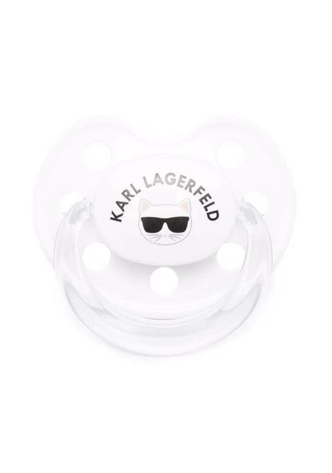 Logo print dummy KARL LAGERFELD KIDS | Z90T1910B