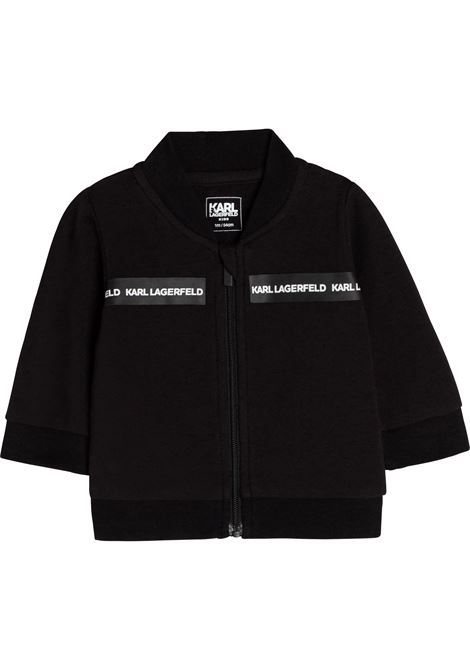 Sports suit with logo band KARL LAGERFELD KIDS | Z98095M41