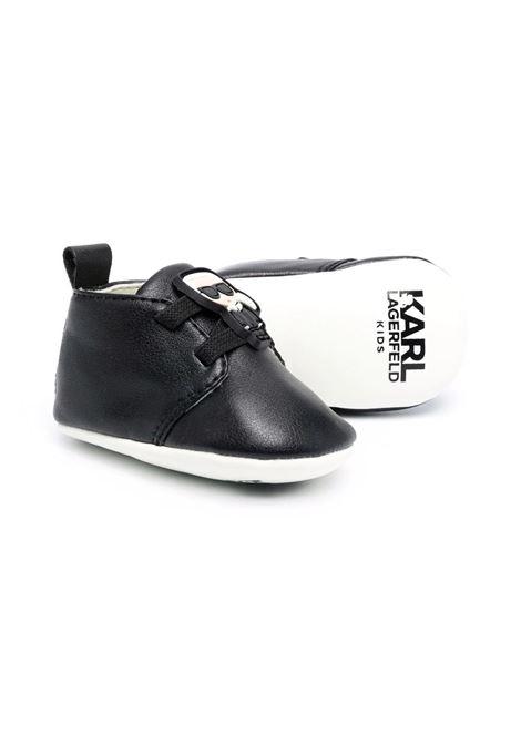 Black first steps shoe KARL LAGERFELD KIDS | Z9901209B
