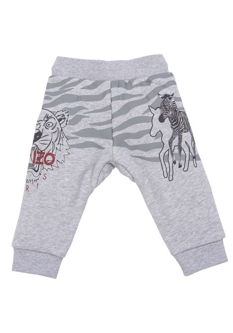 Sports trousers with print KENZO KIDS | K04036A41