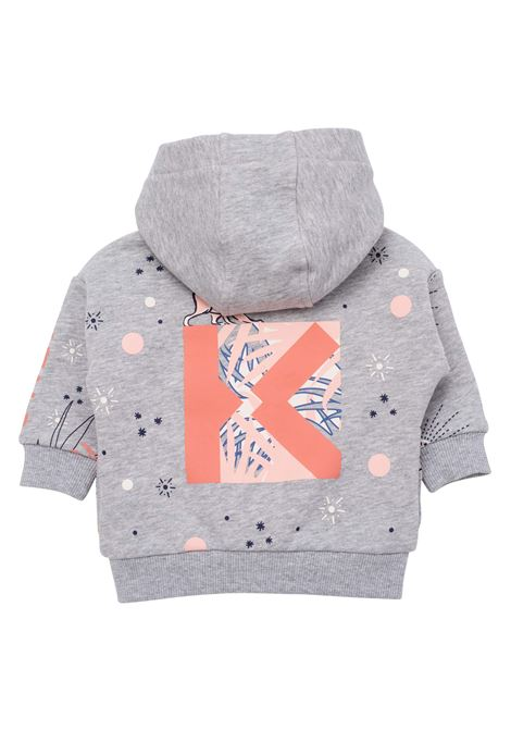 Sweatshirt with zip KENZO KIDS | K05070A41