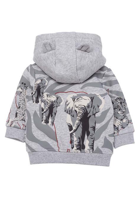 Sweatshirt with zip KENZO KIDS | K05072A41