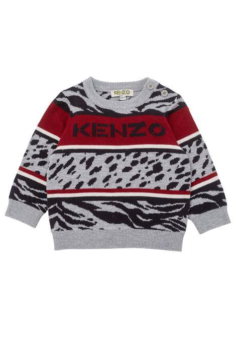 Sweater with print KENZO KIDS | K05077A41