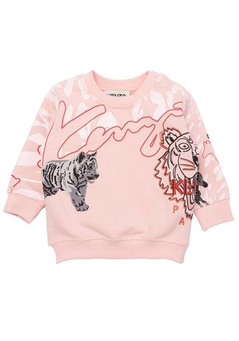 Sweatshirt with embroidery KENZO KIDS | K05083471