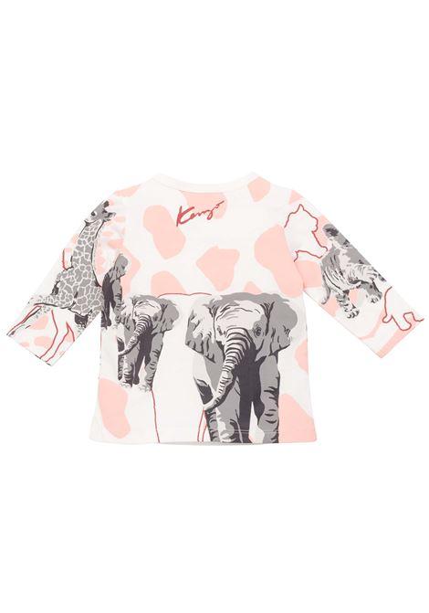 T-shirt with print KENZO KIDS | K05100152
