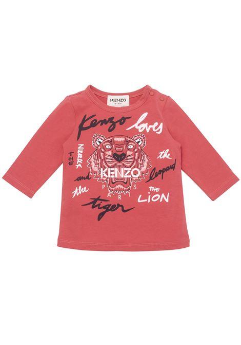 T-shirt with print KENZO KIDS | K0510448B