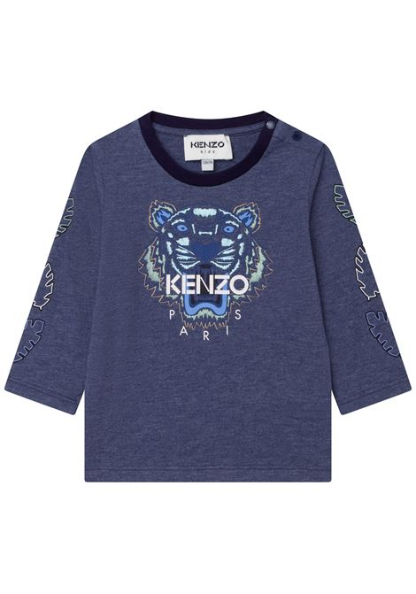 T-shirt with long sleeves KENZO KIDS | K05114868