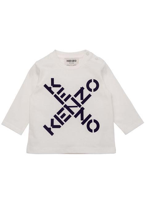 T-shirt with print KENZO KIDS | K05118152