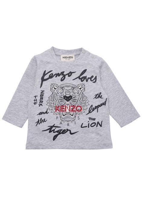 T-shirt with print KENZO KIDS | K05120A41