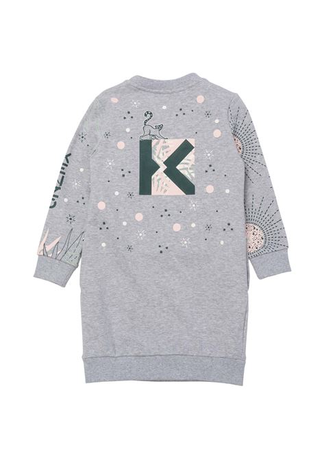 Dress with print KENZO KIDS | K12048A41