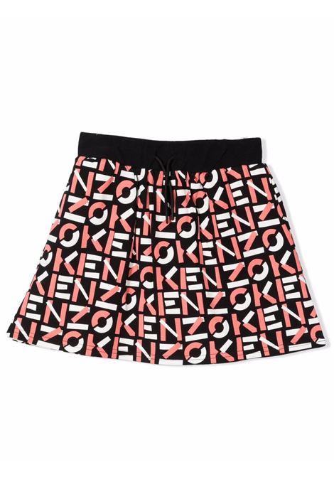 Little girl skirt with print KENZO KIDS | K1301409P
