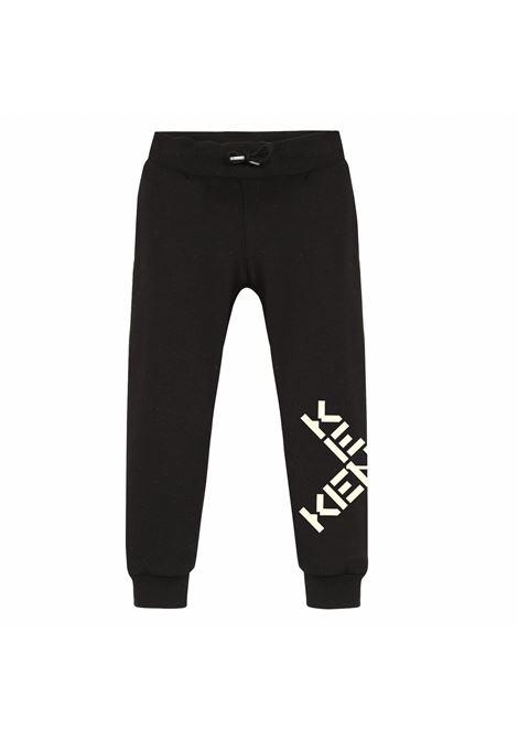 Pantaloni sportivi con stampa KENZO KIDS | K1405309P