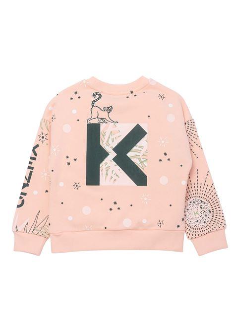 Felpa con stampa KENZO KIDS | K15124T471