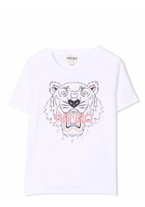Little girl t-shirt with logo KENZO KIDS | K15158T103