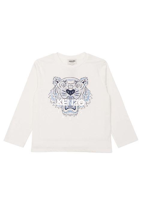 T-shirt con stampa KENZO KIDS   K15164T152