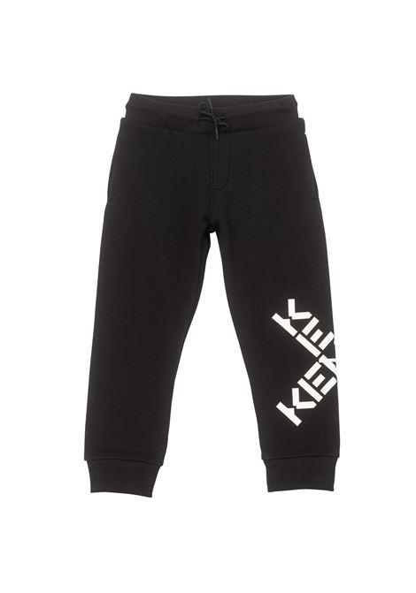 Pantaloni sportivi con stampa KENZO KIDS | K2406609P