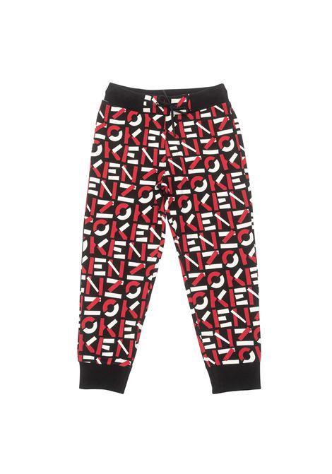 Pantaloni sportivi con stampa KENZO KIDS | K2406809P