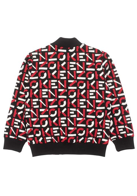 Logo-print bomber jacket KENZO KIDS | K2512109P
