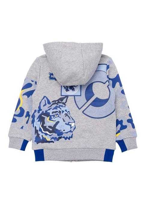 Sweatshirt with print KENZO KIDS | K25127TA41