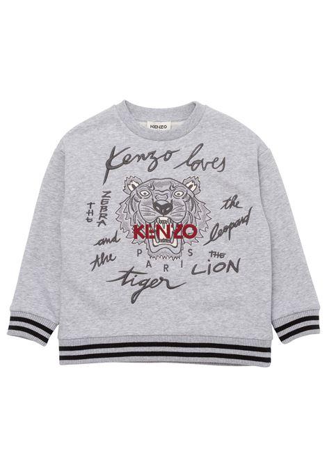 Sweatshirt with print KENZO KIDS | K25156A41