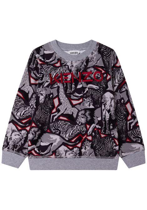 Sweatshirt with print KENZO KIDS | K25160A41