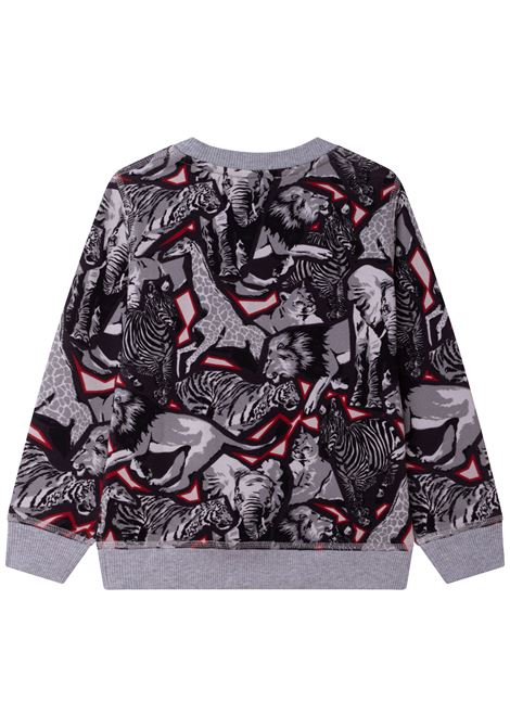 Sweatshirt with print KENZO KIDS | K25160TA41
