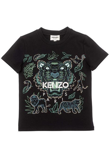 T-shirt con stampa KENZO KIDS | K25171T09P