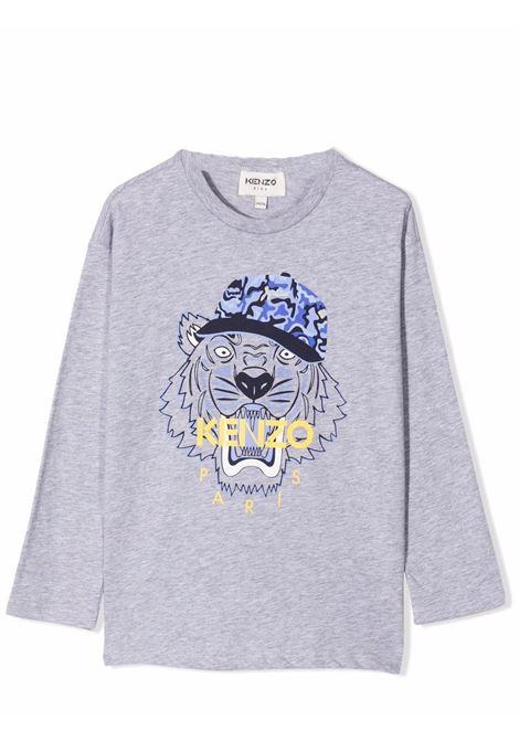T-shirt bambino con stampa KENZO KIDS | K25173TA41
