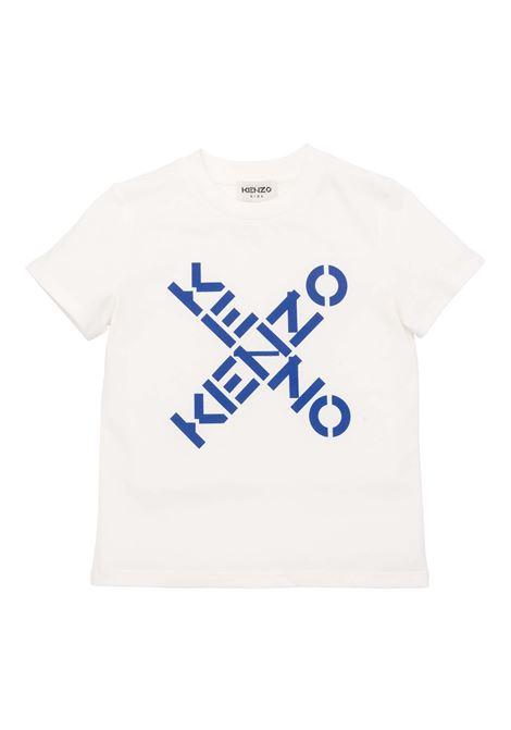 T-shirt con stampa KENZO KIDS | K25175152