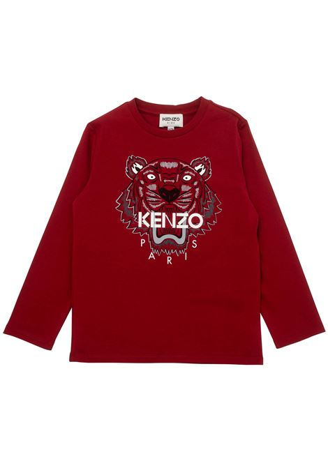 T-shirt con stampa KENZO KIDS | K25177T96D