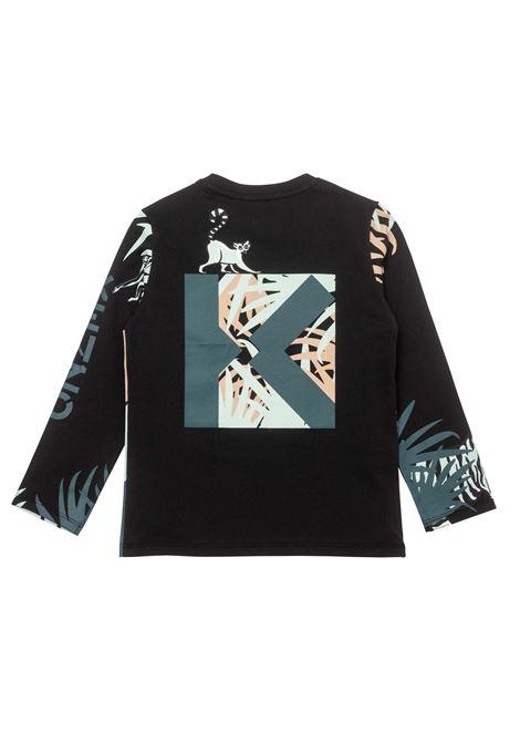 T-shirt with print KENZO KIDS | K25182T09P